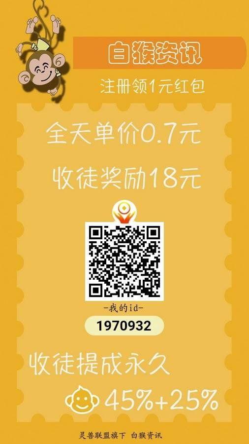 白猴资讯app注册下载